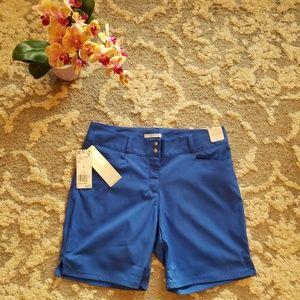 Adidas Blue Golf Shorts Size 4 NWT